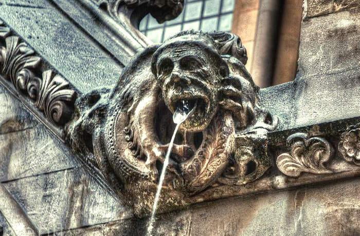 Canalón de la Edad Media