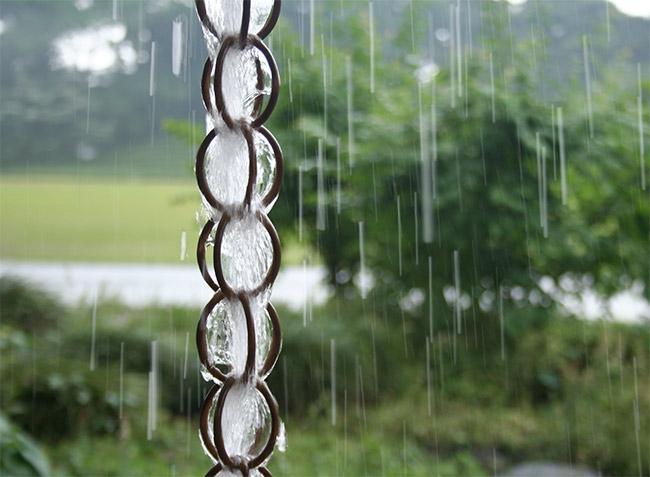 Ventajas de las cadenas de lluvia